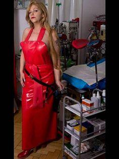 Plastic Aprons, Mistress, Blouse, Maid, Heaven, Play, Female, Apron, Pvc Apron