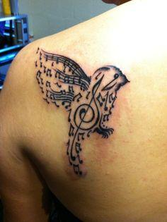 music tattoo | Tumblr