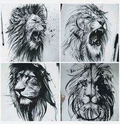 Leo Tattoos, Bild Tattoos, Future Tattoos, Body Art Tattoos, Tattoos For Guys, Sleeve Tattoos, Tatuajes Tattoos, Lion Tattoo Design, Tattoo Designs