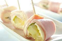 Ham Pickle Roll-ups. Also good with vegetable cream cheese or mix cream cheese with ranch packet