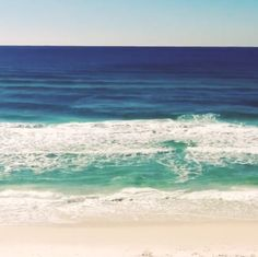 Seagrove waves… How soothing!