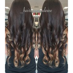 Ashy Caramel Ombré  I'm in love with her hair. #redkencolor #styleyourstory #ombre #balayage #unitehair #cilantrohairspa #behindthechair #modernsalon