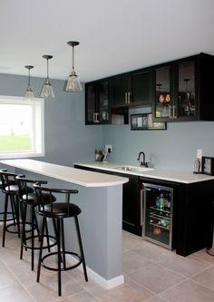 ninesto5 basement bar reveal - Home Basement Designs