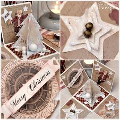 Christmas in a Box by Cat-arzyna.  These boxes/elaborate card/gifts are quite awesome and beautiful.  What a unique idea.