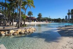 Streets Beach at Southbank in Brisbane