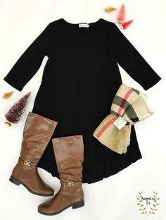 Colefax Dress - Black – Bungalow 123