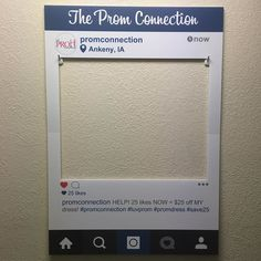 #Prom is coming right around the corner for all #highschools be sure to order your #custom #socialcutout and have the best #photoprop at your prom! #PromNight #PromDress #Classof2016 #Co16 #Highschool #PromQueen #PromKing #PromCourt