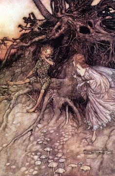 A Midsummer-Night's Dream - Act II, Scene I: I am that merry wanderer of the night