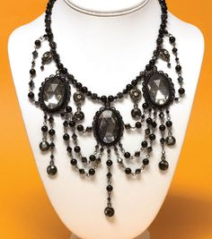 This Victorian gothic necklace is so elegant!