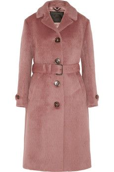 Burberry Prorsum Brushed-wool coat | THE OUTNET