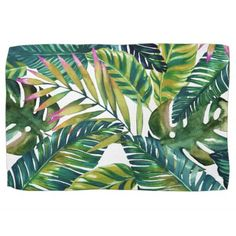tropical hand towel