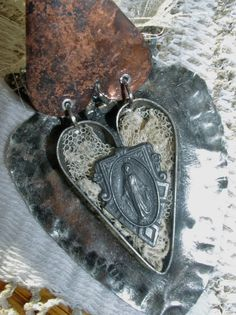 Reliquary of My Heart Pendant