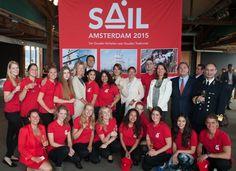Persdag SAIL Amsterdam - https://www.sail.nl/nieuws/nieuws/officiële-startschot-sail-amsterdam-2015