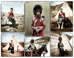 Crimean War - Guards, Foot, Cavalry and Artillery