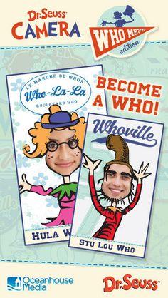 Dr. Seuss Camera: Who Me?