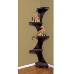 Modern Cat Furniture   I like ALL the options on this website  Prices same as Petco ~ $255