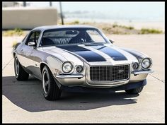 1971 Chevrolet Camaro Z28 Replica 350/350 HP - Mecum Auction (sold, $23,000, November 2013)