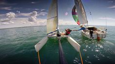 Nacra Tag Team Sailing,Catamarans,Multihulls