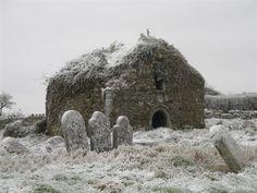 Athlone Ireland~old stone church and graveyard
