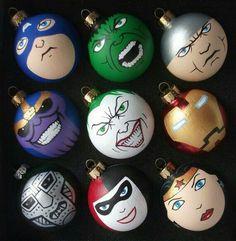 Hero Ornaments
