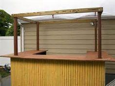 How to Build Outdoor Tiki Bar