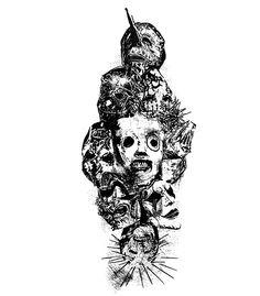 Slipknot Tattoo, Slipknot Lyrics, Slipknot Logo, Slipknot Band, Gorillaz, Metal Bands, Rock Bands, Slipknot Corey Taylor, Badass Drawings