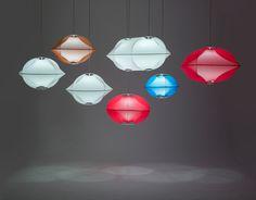 Tenda Lamp by Benjamin Hubert - Design Milk Luxury Lighting, Cool Lighting, Interior Lighting, Modern Lighting, Lighting Design, Design Light, Lamp Design, Textiles, Decoration