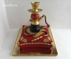 торт - кальян