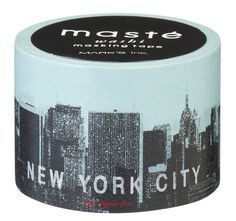 Stad New York Japanse Washi Tape-Masking door SweetSuppliesStore