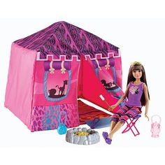 "Barbie Safari Tent and Doll - Mattel - Toys ""R"" Us"