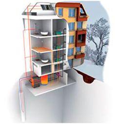 Présentation de la solution PAC absorption géothermique gaz (résidentiel) | GrDF Cegibat