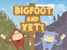 Bigfoot and Yeti is a children's picture book and follows what happens when these mythical creatures meet each other for the first time