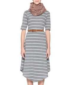 Cute and modest summer dress