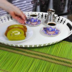 Turkish coffee from Rawaa's kitchen