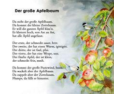 Äpfel Autumn Crafts, Colorful Candy, German Language, Storytelling, Art For Kids, Rustic Wedding, School, Ideas, Kids Rhymes