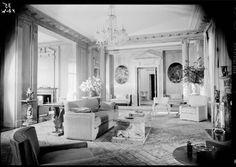 Weber, Hilda Boldt, residence. Living room. Los Angeles, CA 1939