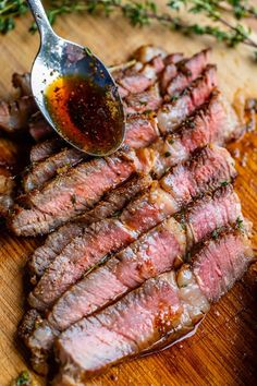 How to Cook Ribeye Steak (Grilled or Pan-Seared) from The Food Charlatan. Guys, I honestly thought I didn't like steak that much. BUT OH WAS I WRONG. This Ribeye Steak recipe is unreal! You will not believe how tender and juicy it is! Salting well ahead of time is the secret. Oh, and tons of garlic butter. I've got all the details for the best way to cook ribeye steak, grilled or on the stove top! #steak #recipe #easy #castiron #grilled #panfried #bonein #boneless #panseared #howtocook Boneless Ribeye Steak, Cooking Ribeye Steak, Ribeye Roast, Good Steak Recipes, Grilled Steak Recipes, Grilling Recipes, Meat Recipes, Dinner Recipes, Meals