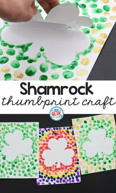 10 St Patricks Day Crafts for Kids Toddlers Preschool Easy DIY To Make Looking for a fun shamrock craft for kids? Try this St Patrick's Day Decorations for Kids idea! They will love this simple art activity for March! March Crafts, St Patrick's Day Crafts, Daycare Crafts, Classroom Crafts, Spring Crafts, Preschool Crafts, Blue Crafts, Kids Diy, Art Crafts For Kids