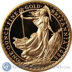 1989 1 oz Proof Gold Britannia (With Box) http://www.gainesvillecoins.com/buy-gold.aspx