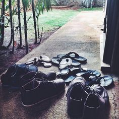 1158135b261b2c Taking off your shoes before entering a home is a common Hawaiian custom.  We hope