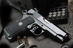 Wilson Combat   CQB Compact Loading that magazine is a pain! Excellent loader available for your handgun Get your Magazine speedloader today! http://www.amazon.com/shops/raeind
