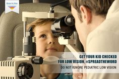 Low #vision can be the result of #childhood conditions such as #albinism, pediatric #cataracts, pediatric #glaucoma, #nystagmus, and #retinal and optic nerve abnormalities.  Help Mission for Vision spread the word about this eye disorder in babies, #SpreadTheWord