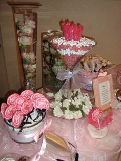 baby shower candy buffet