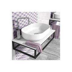 soporte lavabo mural encimera baño metal negro industrial lavamanos Deco, Bathroom, Bathrooms, Wash Hand Basin, Sink, Metal Beds, Black Metal, Modern Bathrooms, Washroom