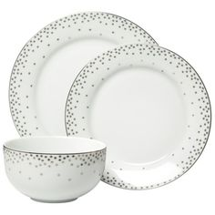 Threshold™Snowflake Trim Dinnerware Set of 12 from Target  sc 1 st  Pinterest & Snowflake plate from ikea. Love that it kinda of looks like a ...
