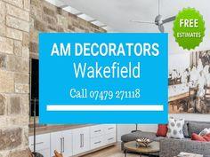 A Painter And Decorator Nearby. Wakefield, Flat Screen, Decor, Blood Plasma, Decoration, Flatscreen, Decorating, Dish Display, Deco