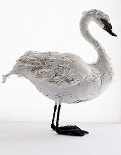 Abigail Brown swan http://beta.quintessentiallygifts.ch/Abigail-Brown-Swan-52/