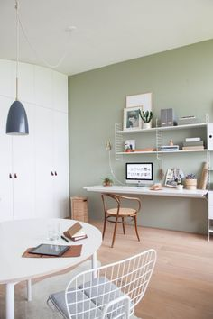 Project H Studio Reveal Before And After Office Wall Colors Walls Home