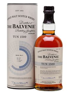 Balvenie Tun 1509 - Batch 3 Scotch Whisky : The Whisky Exchange Drinks With Pineapple Juice, Juice Drinks, Glass Packaging, Single Malt Whisky, Use Of Plastic, 28 Years Old, Scotch Whisky, Distillery, Whiskey Bottle
