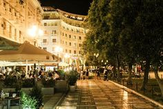 Plateia Aristotelous Thessaloniki, Greece, Dolores Park, Street View, Travel, Photos, Greece Country, Viajes, Trips